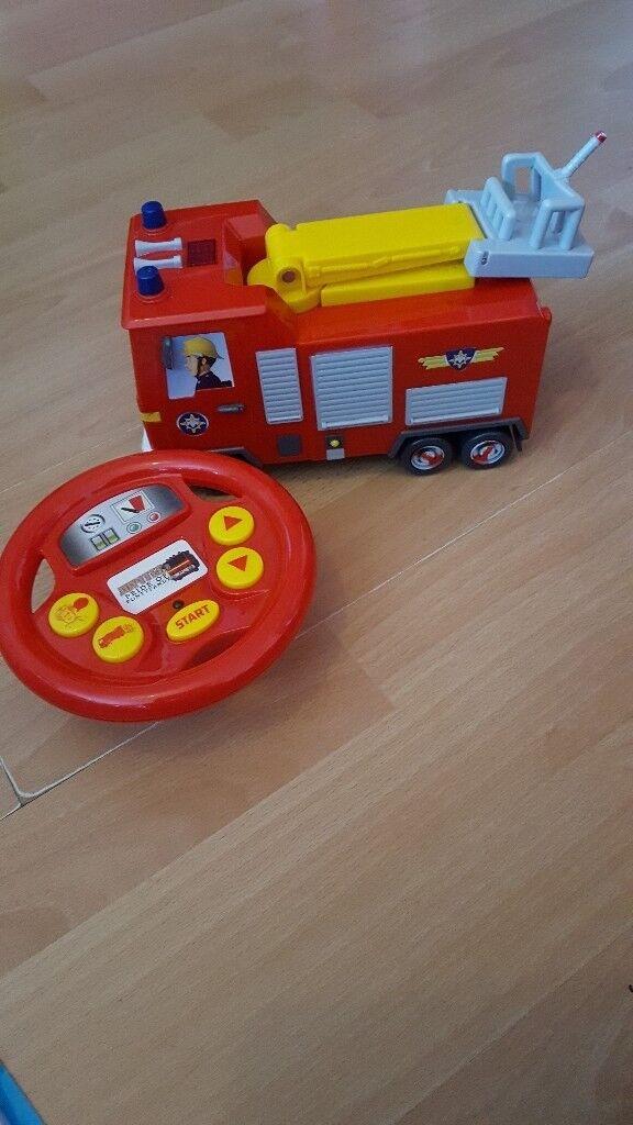 Fireman Sam Remote Control and Playset Bundle