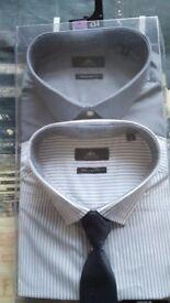 "NEXT SHIRTS x6. All new 18""collar"