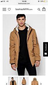 Men's coat boohooman