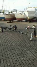 Boat trailer approx 12ft