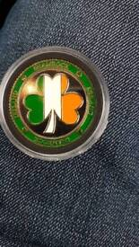 Irish coins souvenirs