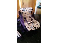 Munchkin Travel Booster Seat, only used once, excellent condition, smoke free pet free home.