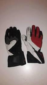 Mens motorbike gloves