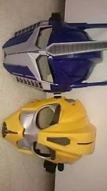 Transformers mask, hard plastic x 2
