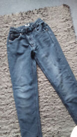 George soft touch skinny jeans - age 11 -12
