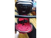 Twin pushchair oyster max