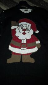 christmas jumper size s/m