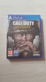 CALL OF DUTY WWII PS4 WORLD WAR 2 PLAYSTATION 4