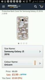 Unicorn phone case Samsung j3