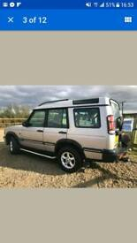 TD5 late 1999 Landrover Discovery 2