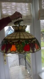 Vintage Tiffany style lamp shade