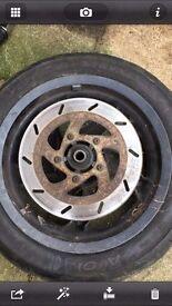Gilera runner wheel front 125