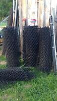 4 ft plastic coated fencing