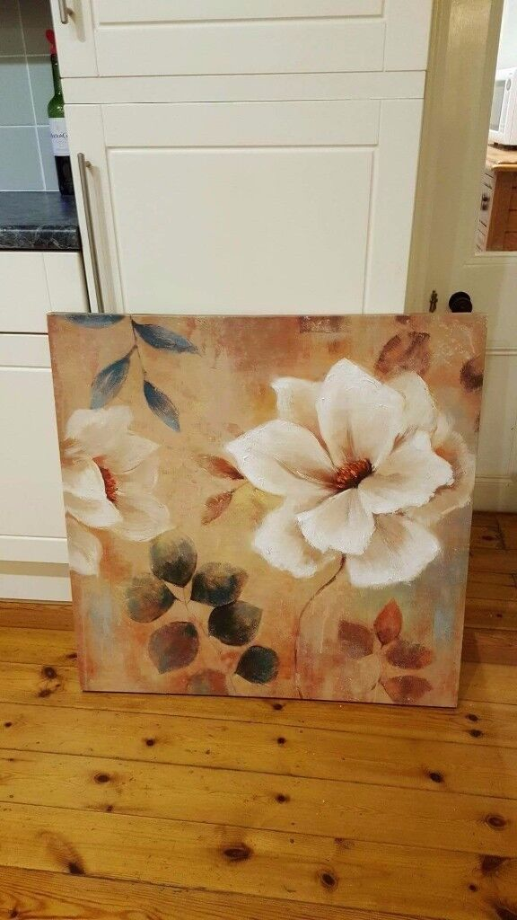 Barker and Stonehouse large oil on canvas picture