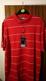 Nike and Callaway golf polo shirts for sale, new with tags