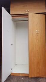 Very good clean double wardrobe