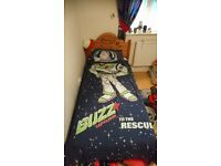 TOY STORY & BUZZ LIGHTYEAR SINGLE DUVET SET & BEACH TOWEL