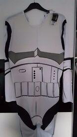 Stormtrooper Mens onesie/dress up Large NWT