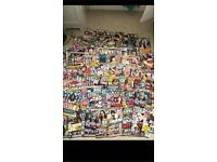 Huge kerrang magazine collection!