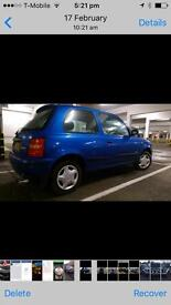 Nissan micra spares or repaires. £199