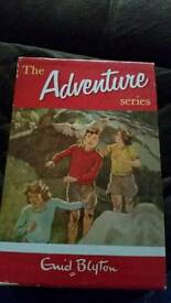 Enid Blyton. The Adventure series books