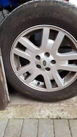 Freelander 2 17 inch wheels