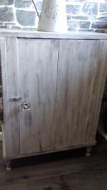 Rustic style handy kitchen / storage cupboard