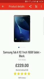 Samsung A6 10.1 tab