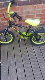Childs bike age 4-6
