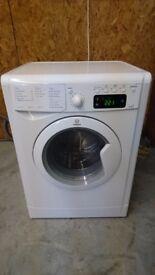 Refurbished Indesit IWDE7125B 7/5kg 1200rpm Freestanding Washer Dryer in White