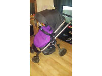 Chicco Urban Stroller 3in1 Travel System with car seat and base