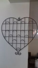 Large heart organiser/photo frame