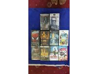 10 VHS Rare Movies For Sale