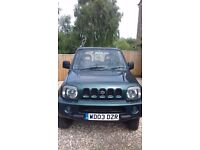 low milage SUZUKI JEEP FOR SALE racing green colour