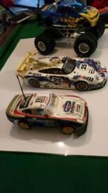 Rc vintage collection cars TAMIYA