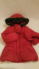 M&S 2-3 yo winter jacket