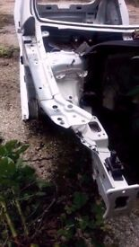 2013-2016 MK3 5F SEAT LEON FR OSF DRIVERS SIDE FRONT CHASSIS LEG INNER WING CUT OUT IN WHITE