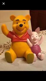 Walt Disney poo bear / piglet Moneybox