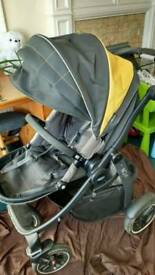 Graco Evo XT Pushchair/buggy/pram