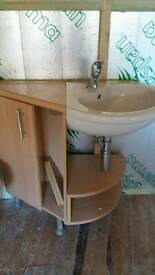 Bathroom Sink and unit