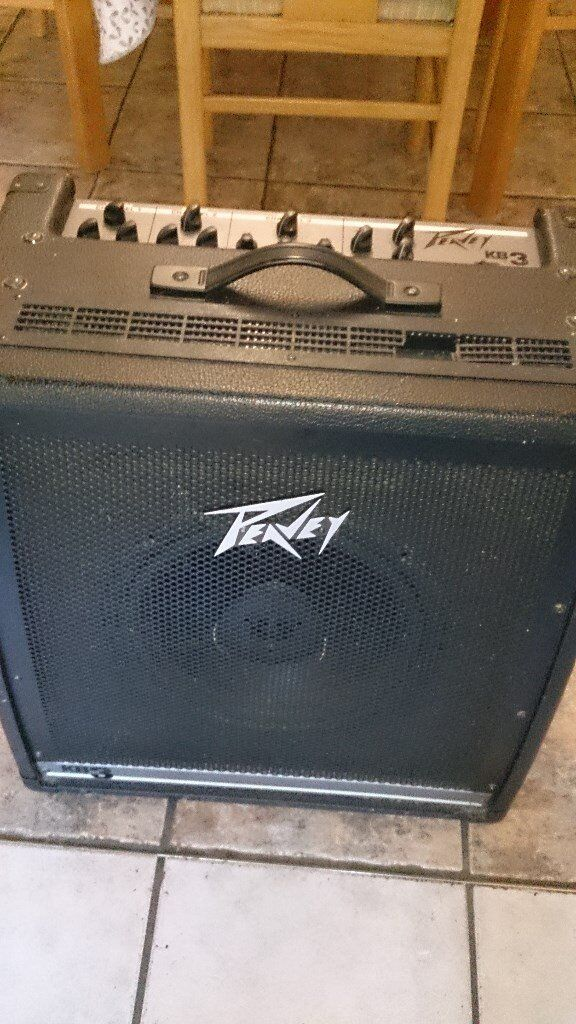 amplifier peavey kb3 4 channel amp mixer speaker cab in ely cambridgeshire gumtree. Black Bedroom Furniture Sets. Home Design Ideas