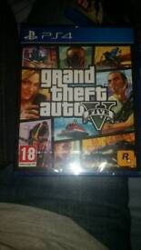 (BRAND NEW) GTA 5 FOR PS4