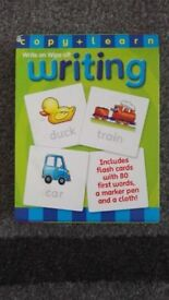 Write On Wipe Off Writing Flash Cards