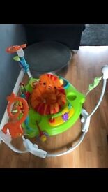 Fisher Price rainforest jumperoo (new version)
