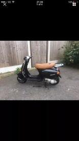 Vespa Et4 125 hpi clear direct from salvage