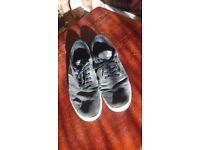 Supra Charcoal Shoes Size UK 11