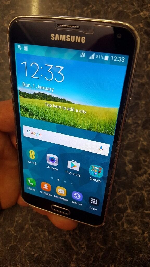 Galaxy s5 on ee,orange,t mobile,virginin Yate, BristolGumtree - As above a good condition phone with a few marks from use the screen is near unmarked as it got a gorilla glass screen protector on and come with an impact case great if you like to drop your phone will protect from drops and falls I do have a...