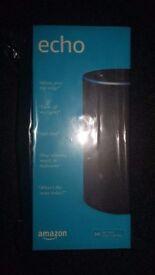 New 2017 Amazon Echo (Brand New) Charcoal Fabric Black