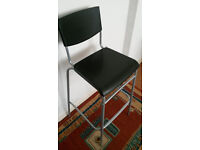 Ikea Bar Chair / stool with back rest
