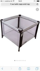 I safe zap and nap travel cot